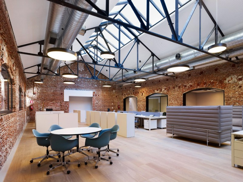 Лофт дизайн офиса