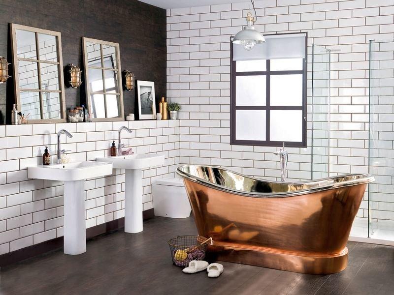Ванна дизайн лофт