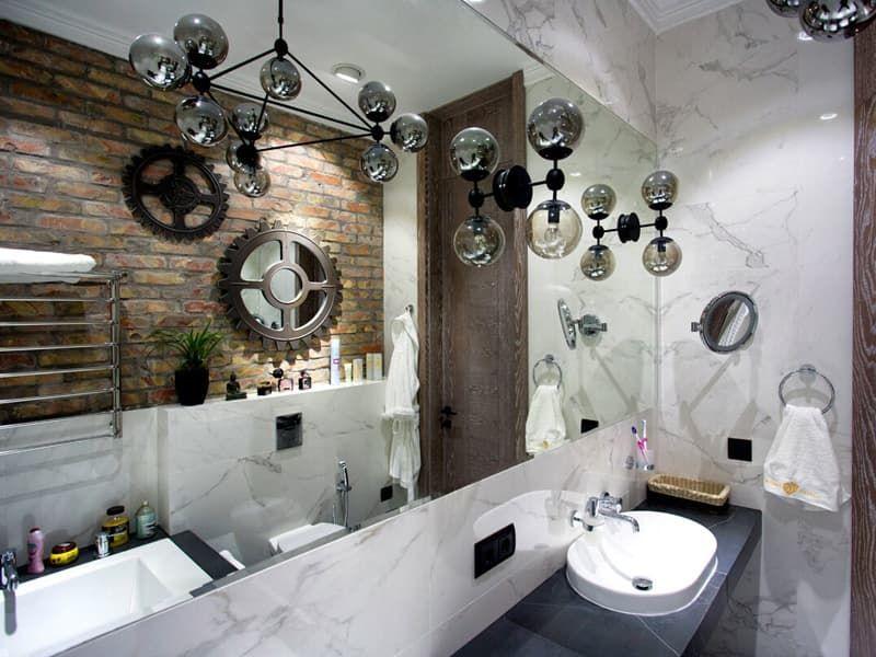 Светильники для ванной в стиле лофт