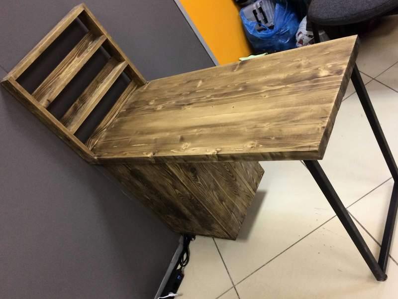 Лофт стол для маникюра