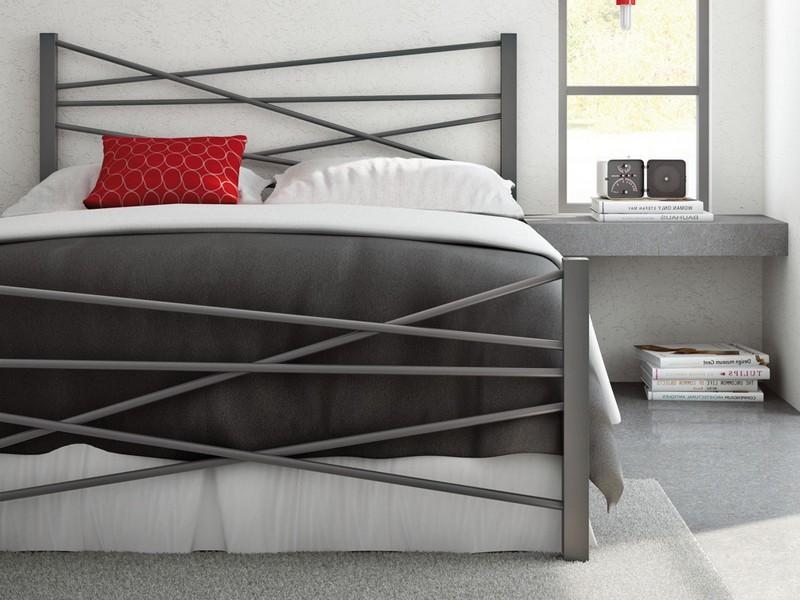Кровать лофт из металла