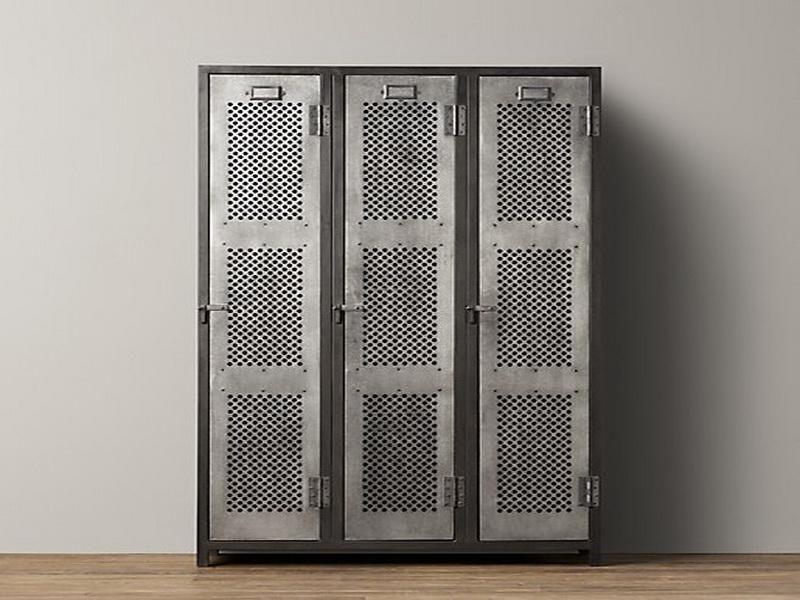 Шкафы лофт из металла