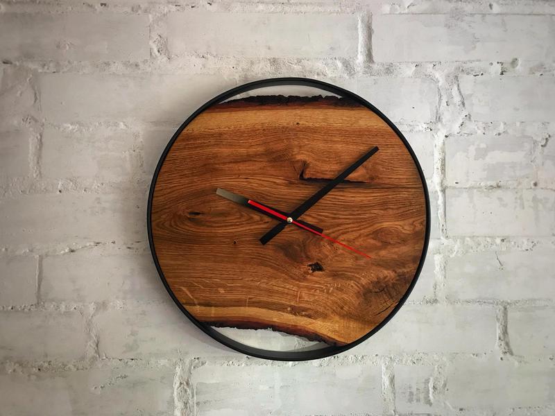 Настенные часы лофт