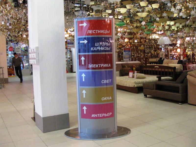 Навигация для торгового центра