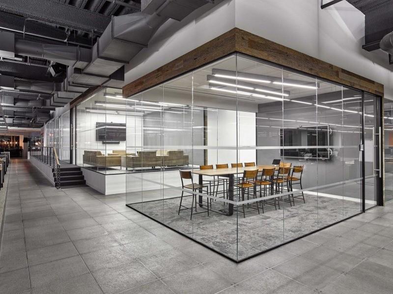 перегородки loft для офиса на заказ