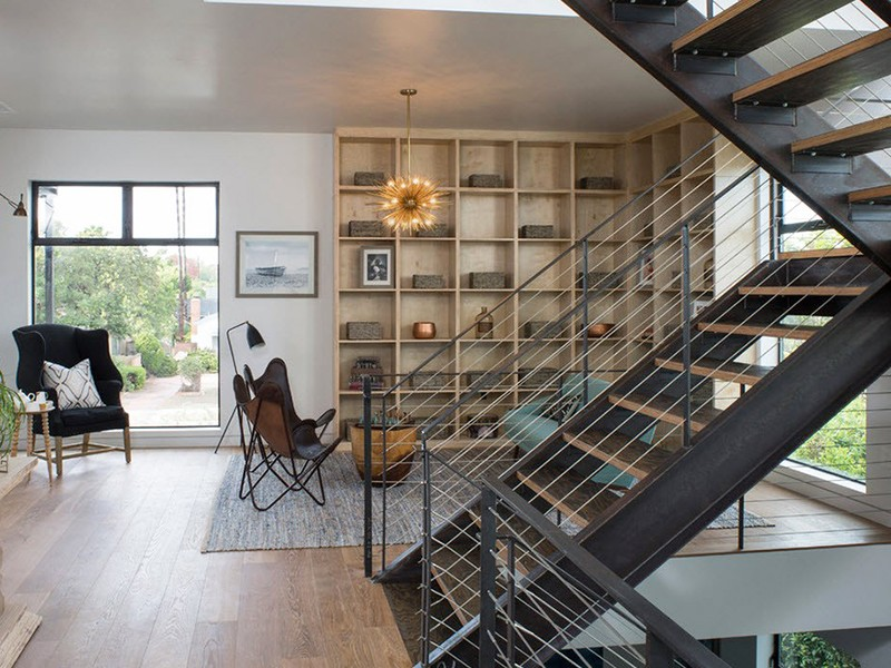 перила в стиле loft на заказ