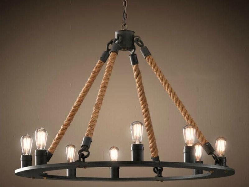 Подвесные люстры loft