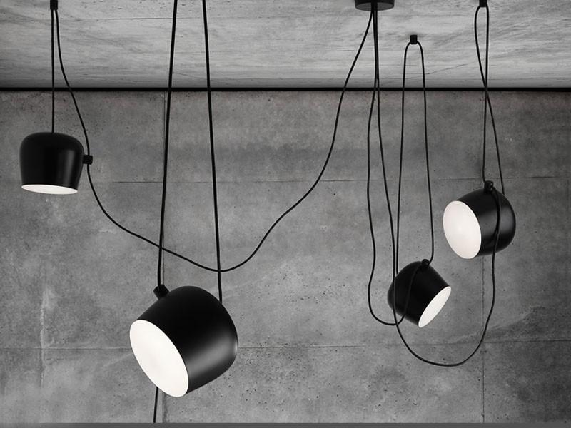 Лофт лампы на потолок