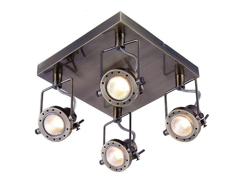 Потолочный светильник в стиле лофт