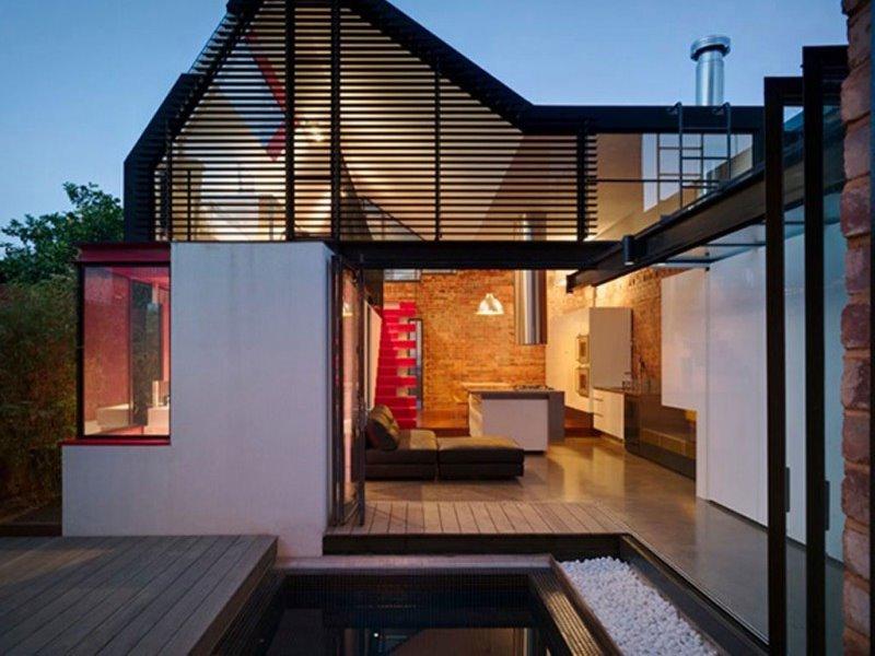 Проекты домов в стиле лофт