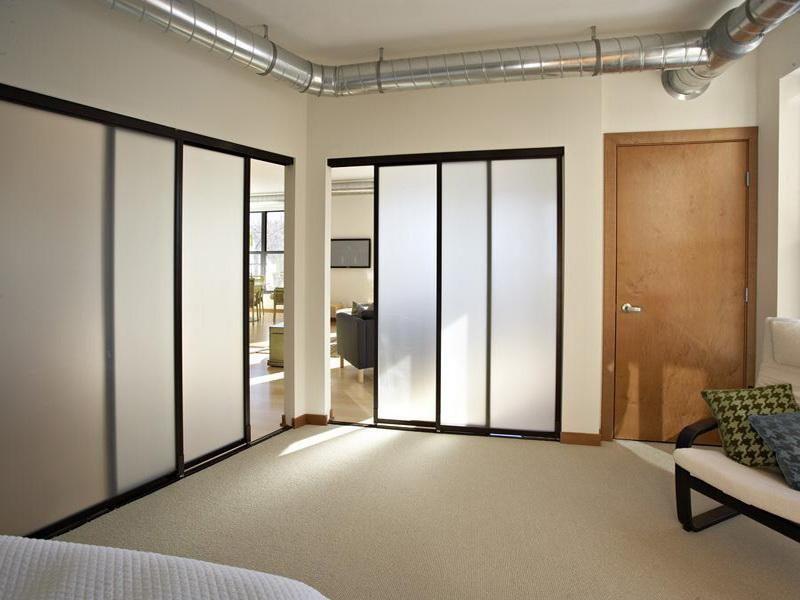 раздвижные перегородки loft в комнату на заказ