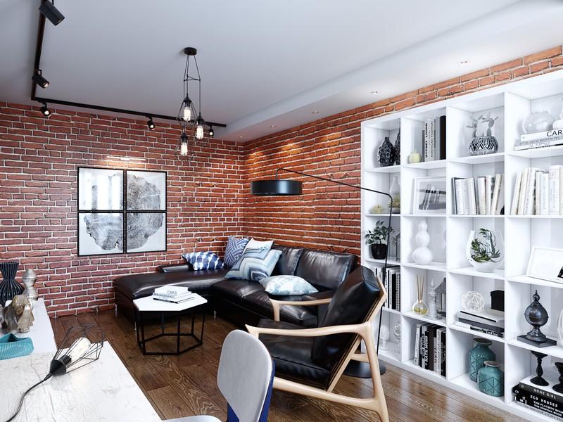 Ремонт квартиры в стиле лофт