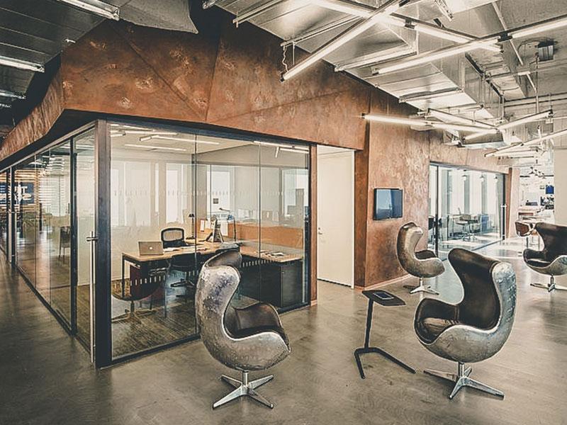 Ремонт офиса в стиле лофт