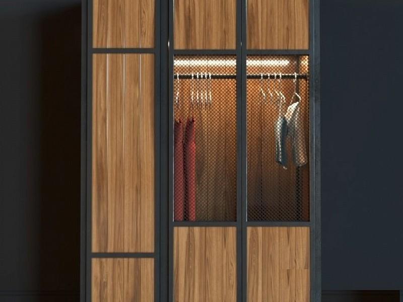 Лофт шкаф