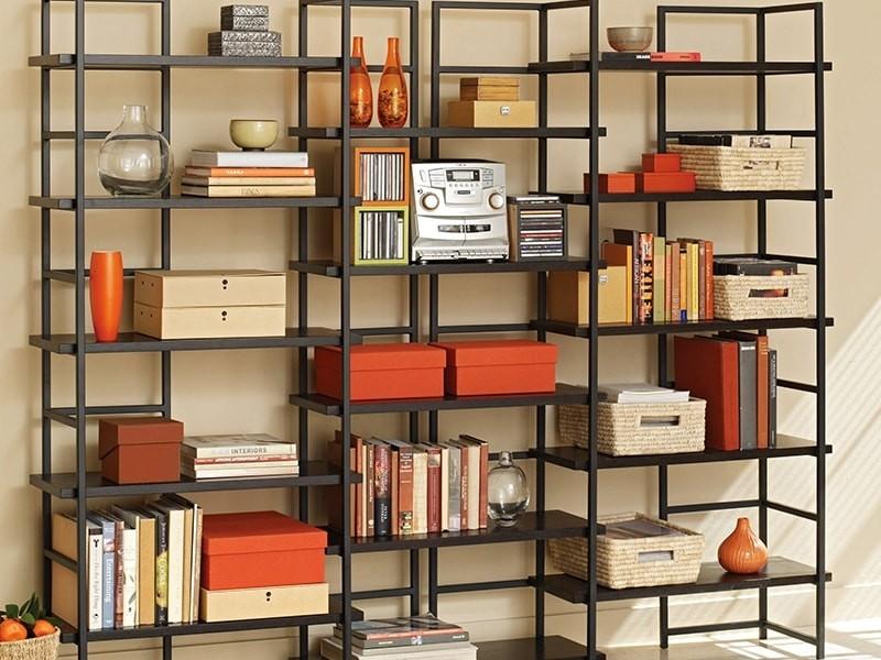 Стеллаж для книг лофт