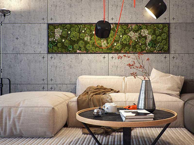 панели для стен в стиле лофт на заказ