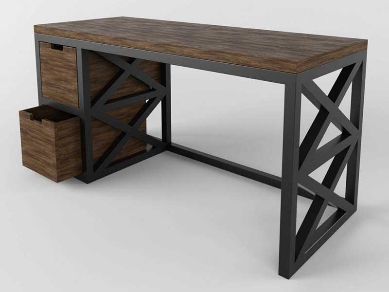 Металлические столы лофт