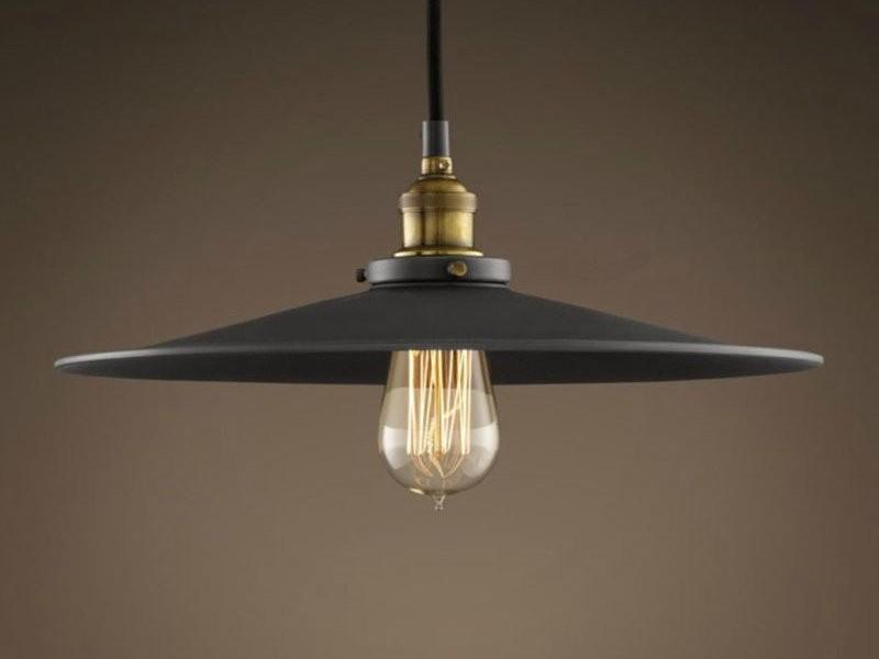 Металлические светильники в стиле лофт