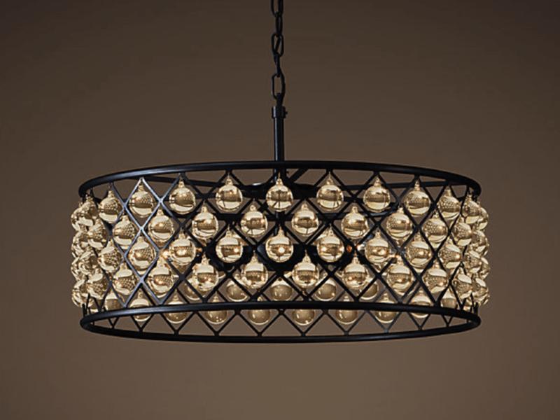 Светильники из металла в стиле лофт