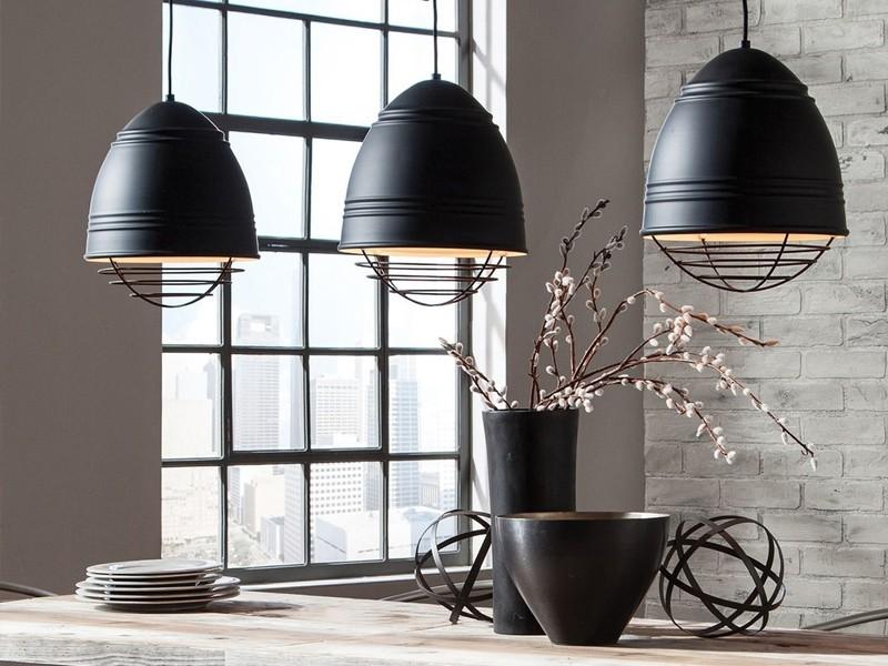 Светильники в стиле лофт на кухню