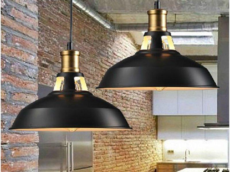 Лофт светильник на кухню