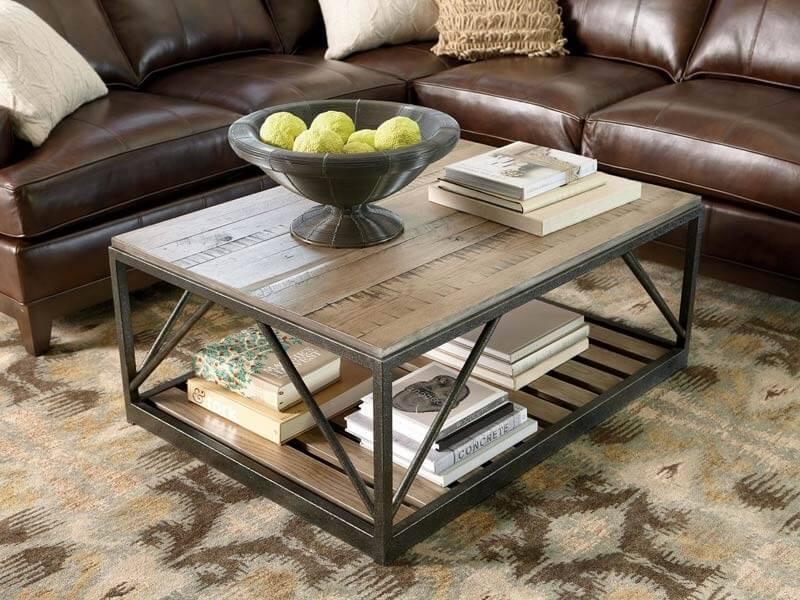 Журнальные столы в стиле лофт