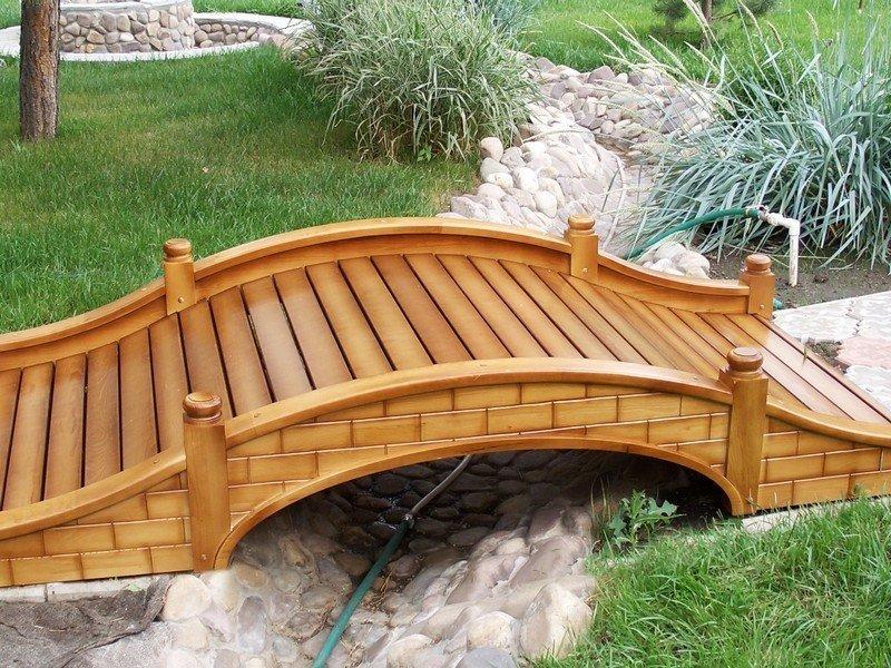 Декоративные деревянные мостики