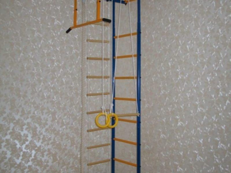 Детская лестница турник