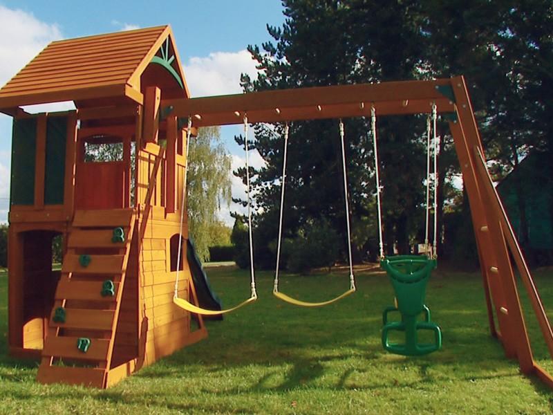 Игровой комплекс для детей на дачу