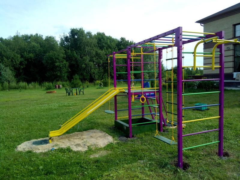 Игровые комплексы для детей для улицы