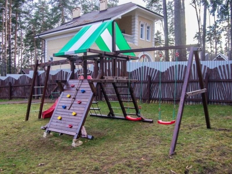 Детские игровые комплексы для улицы
