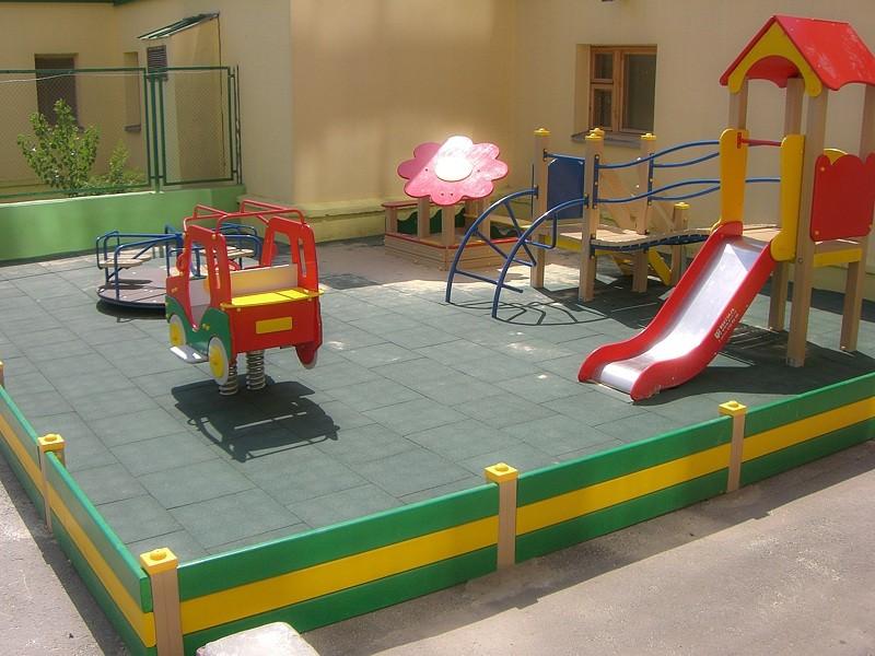 Детское ограждение для игровой территории