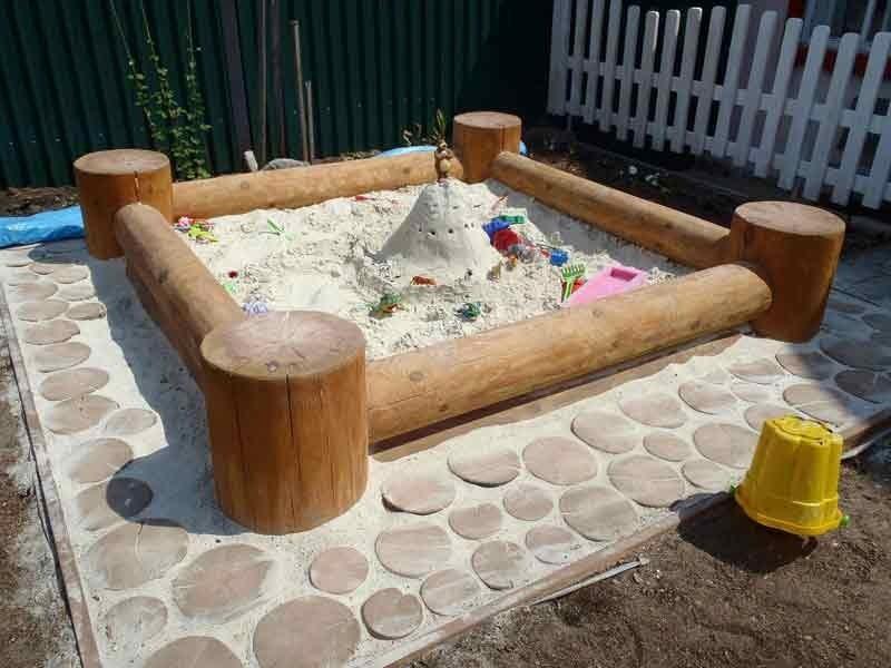Песочница детская для дачи