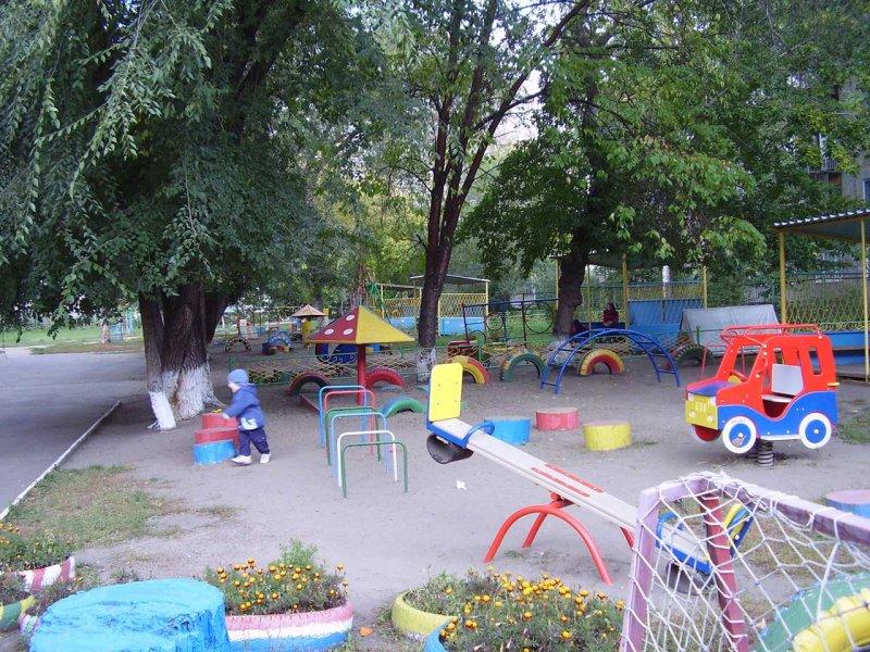 Детская площадка для детского сада