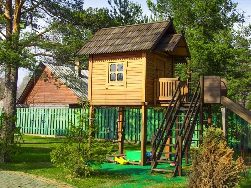 Детский домик на дачу