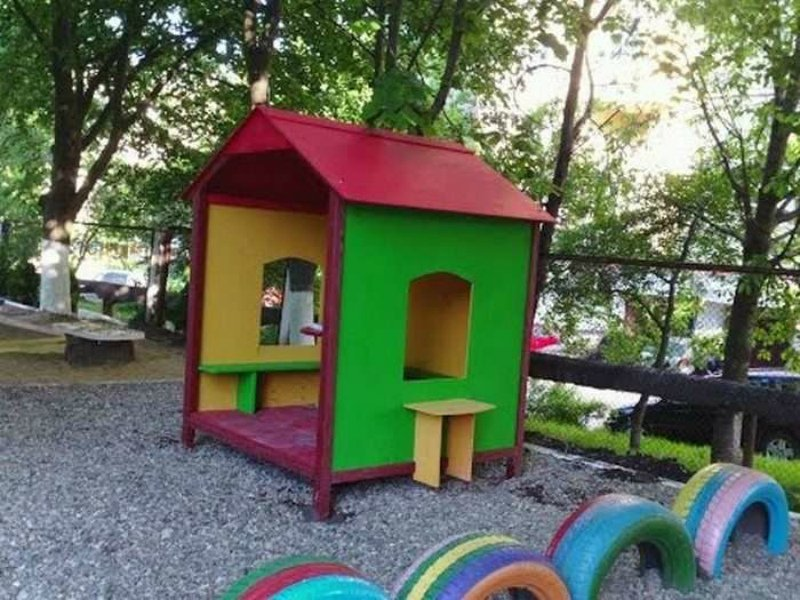 Детский домик в детский сад