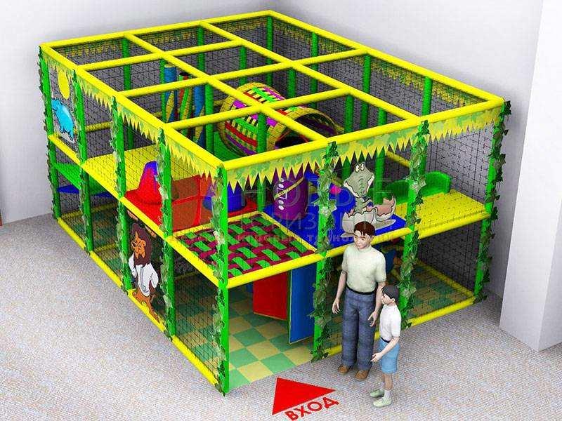 Детский игровой комплекс игровой лабиринт