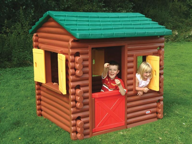 Детский пластиковый домик для дачи