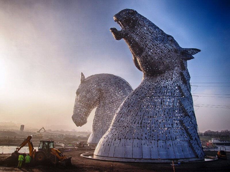 Большие скульптуры