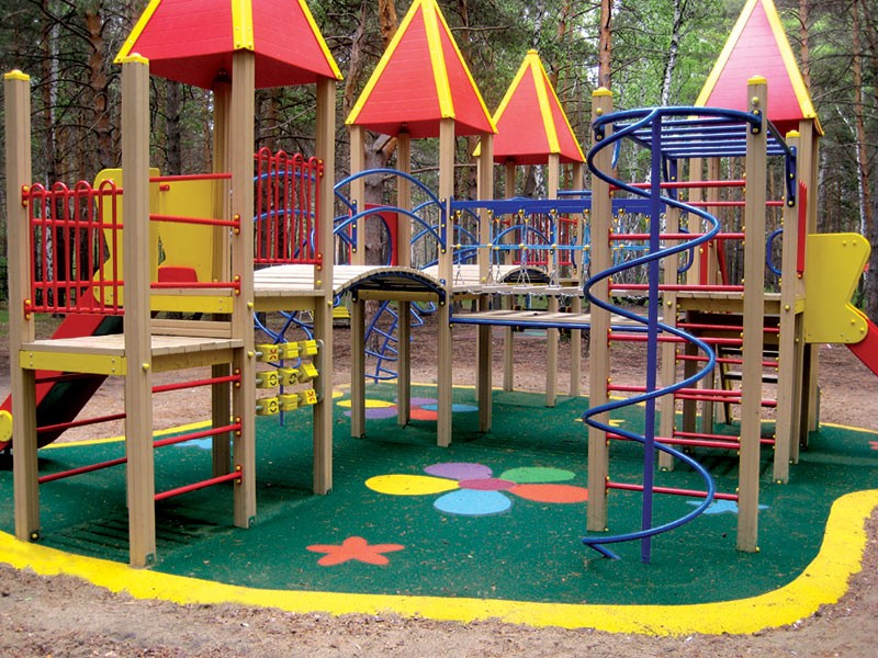 Игровые комплексы детские для детского сада