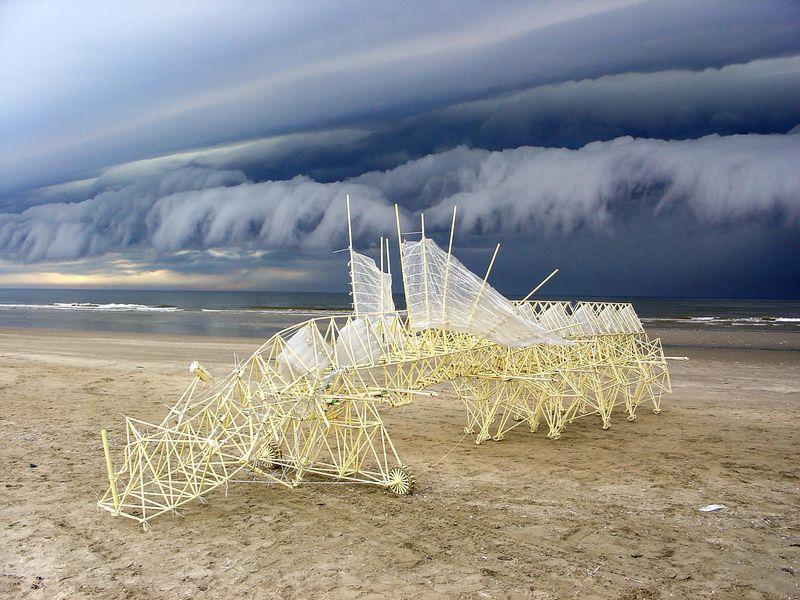 Ветряные скульптуры
