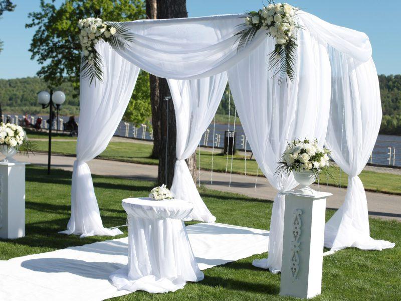 Квадратные арки для свадьбы