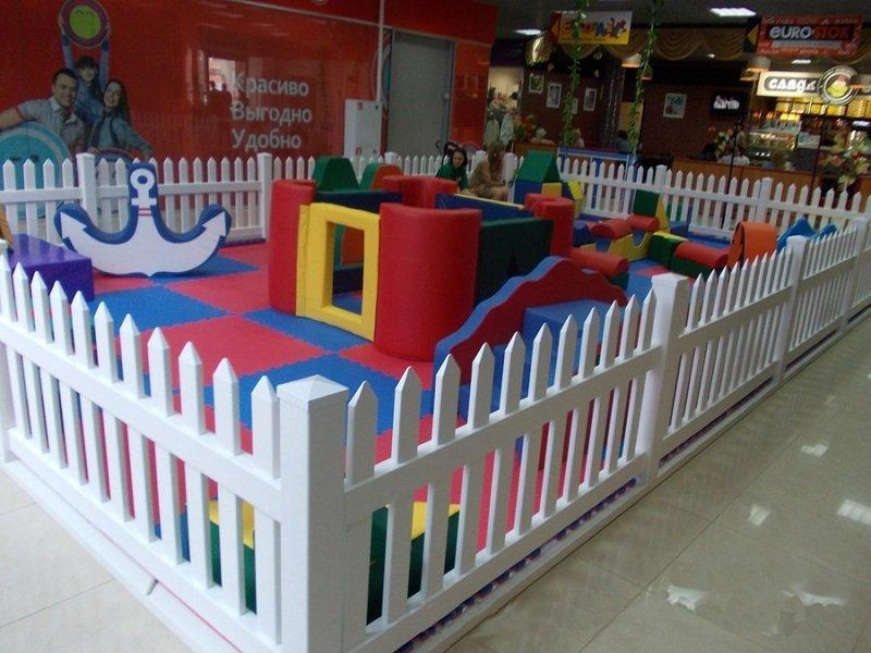 Ограждения для детской площадки