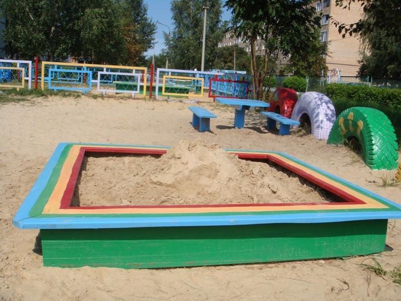 Песочница для детского сада
