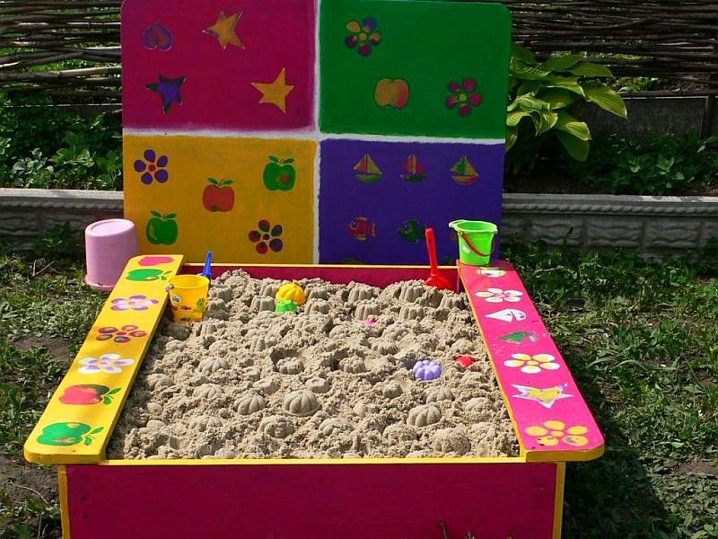Песочницы для детского сада