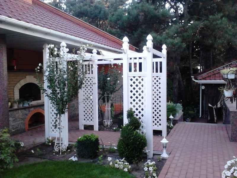 Садовые арки пластиковые