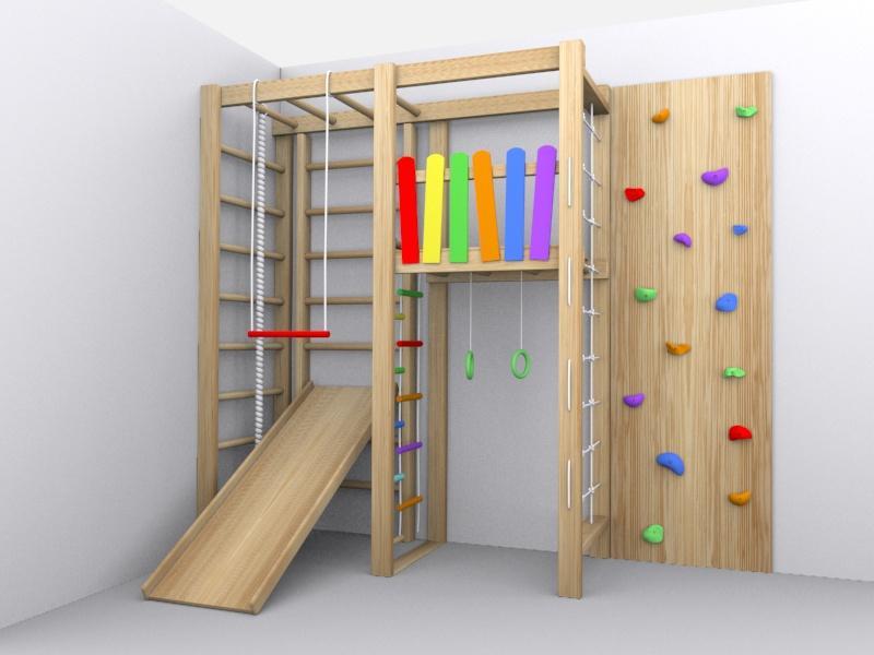 Шведская стенка для детей деревянная