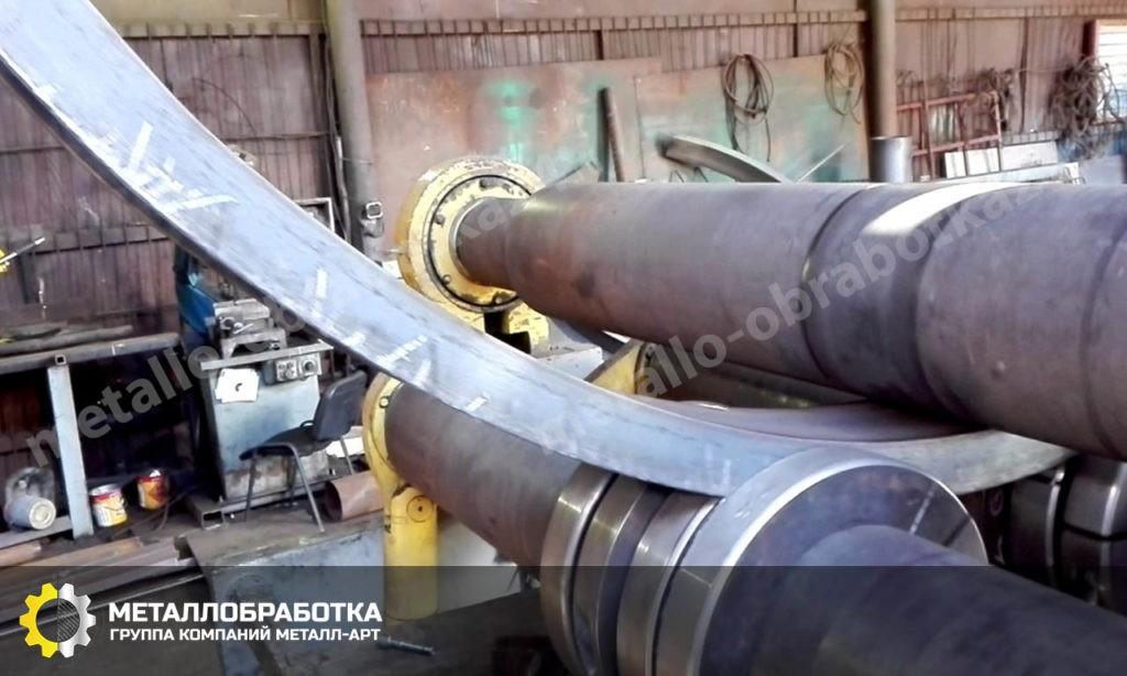 Гибка уголка из металла