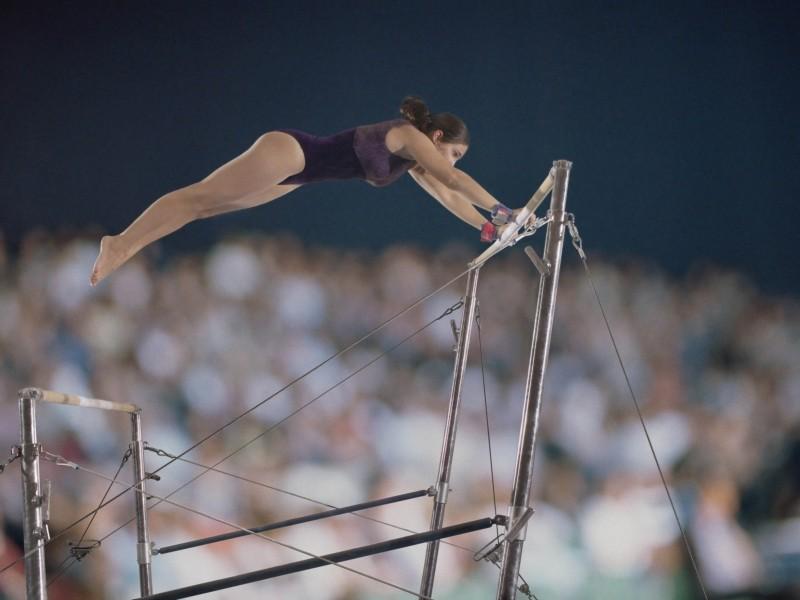Брусья разновысокие гимнастические