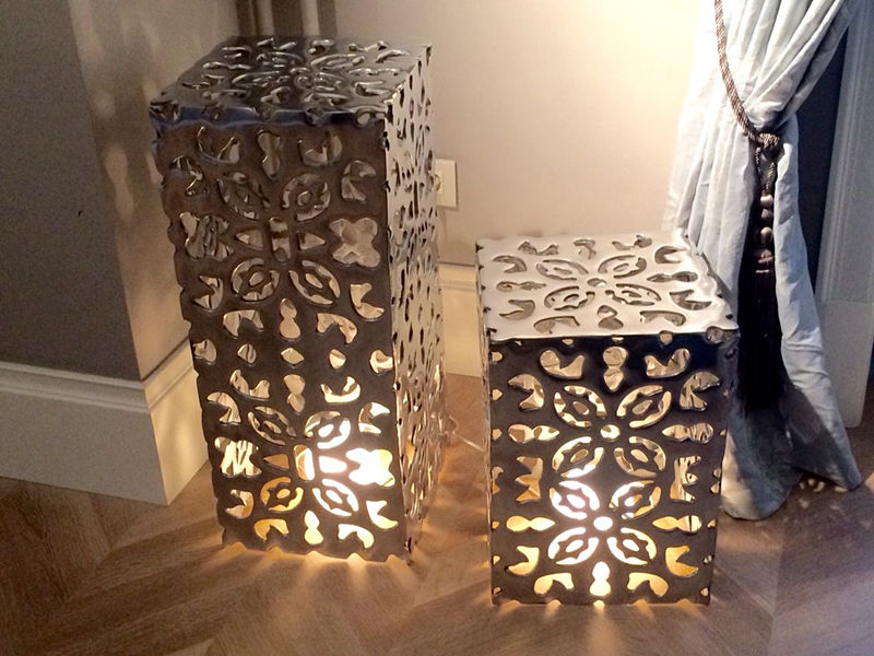 Декор из металла для дома